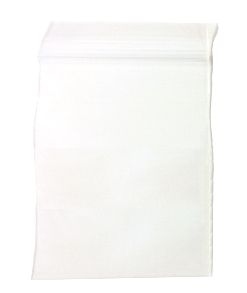 "Recloseable Zip Bags 2mil 5"" x 6"" Clear (100)"