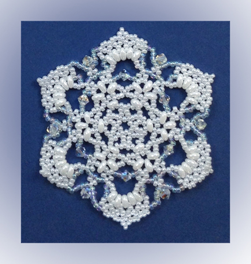Snowflake #112 Ornament