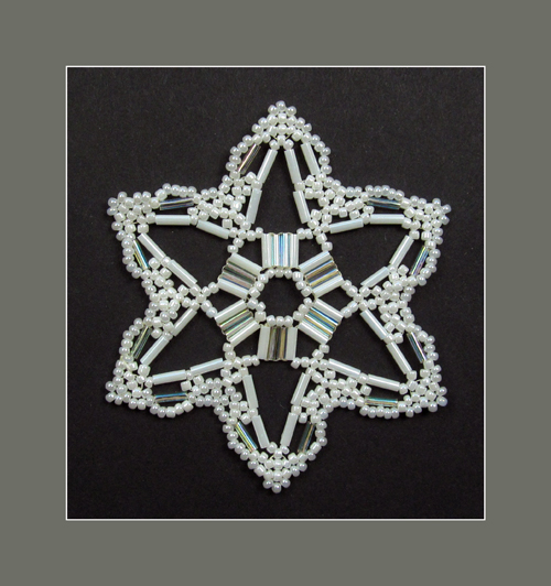 Snowflake #134 Ornament Pattern