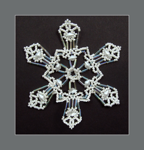 Snowflake #122 Ornament Pattern