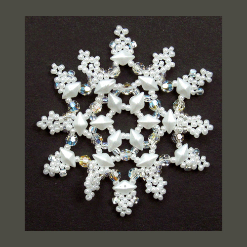 Snowflake #129 Ornament Pattern