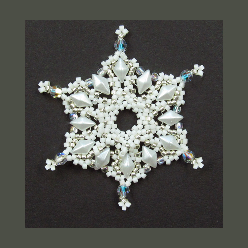 Snowflake #126 Ornament Pattern