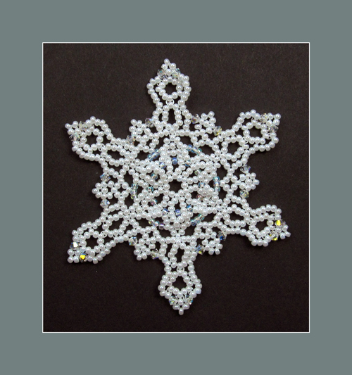 Snowflake #123 Ornament Pattern