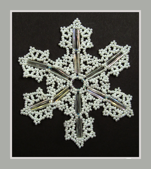 Snowflake #136 Ornament Pattern