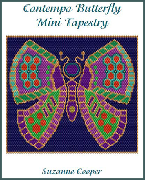 Contempo Butterfly Mini Tapestry