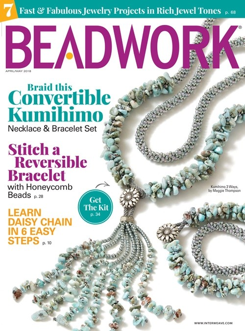 2018 Apr-May - BEADWORK magazine (Used)