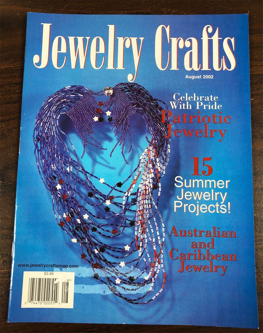 2002 August, Jewelry Crafts Magazine (Used)