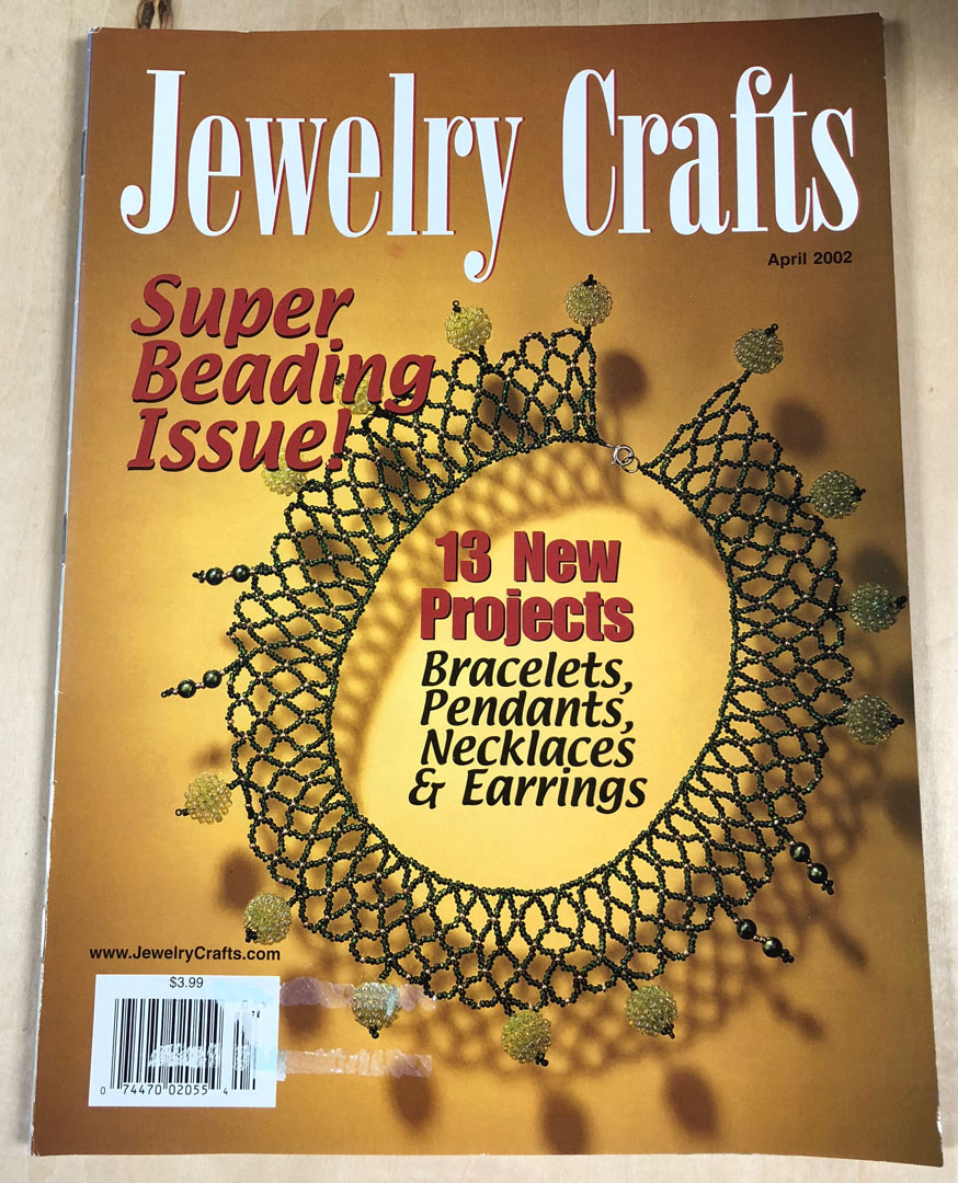 2002 April, Jewelry Crafts Magazine (Used)