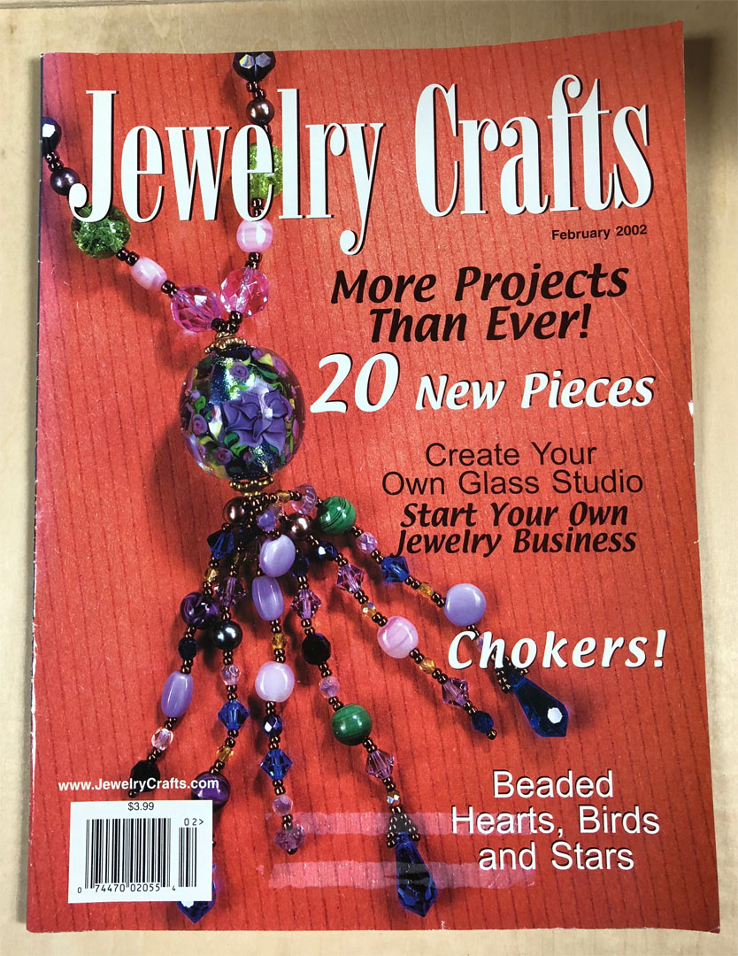 2002 February, Jewelry Crafts Magazine (Used)