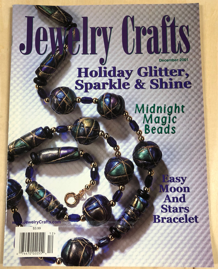 2001 December, Jewelry Crafts Magazine (Used)
