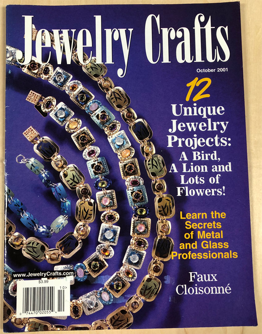 2001 October, Jewelry Crafts Magazine (Used)
