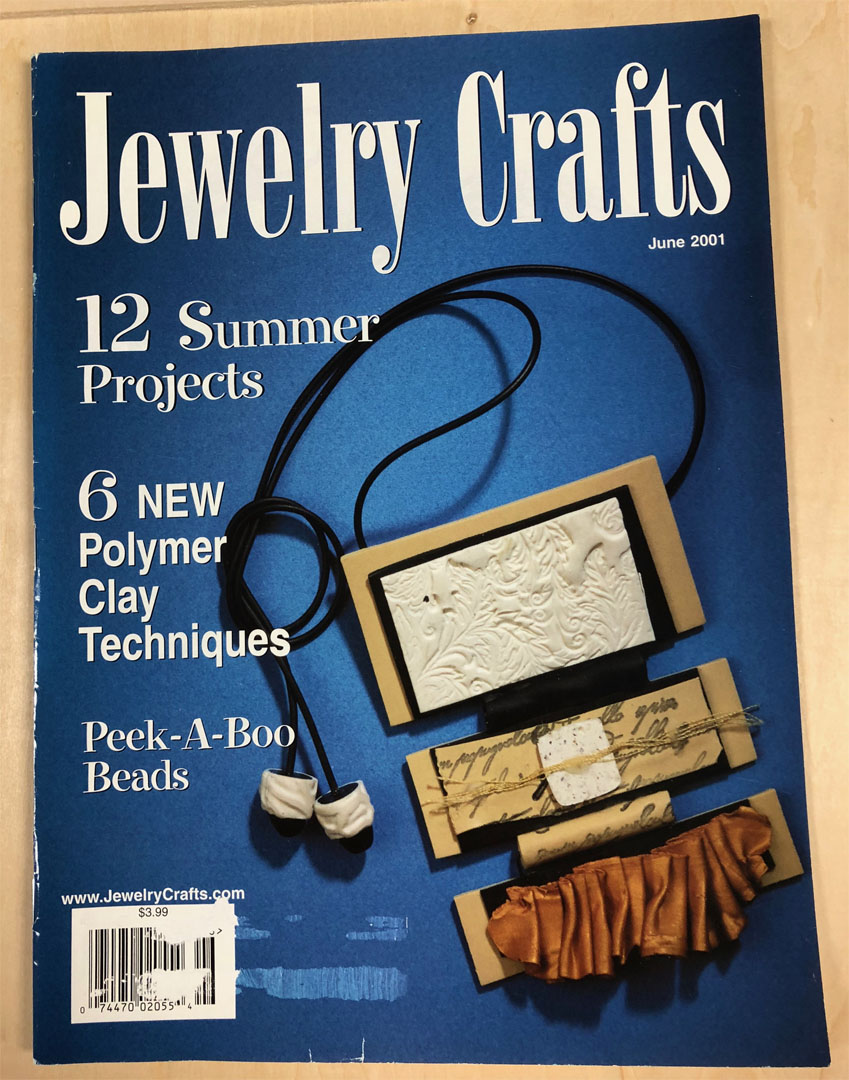 2001 June, Jewelry Crafts Magazine (Used)