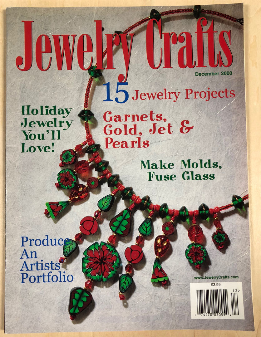 2000 December, Jewelry Crafts Magazine (Used)