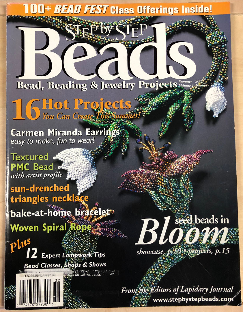 2003 Summer, Vol 1 No 2, Step by Step Beads Magazine (Used)