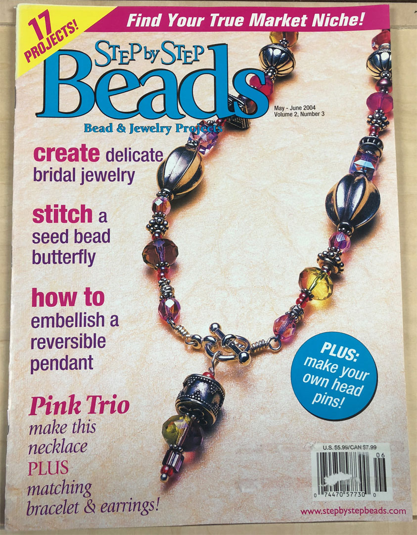 2003 May-Jun Vol 2 No 3, Step by Step Beads Magazine (Used)
