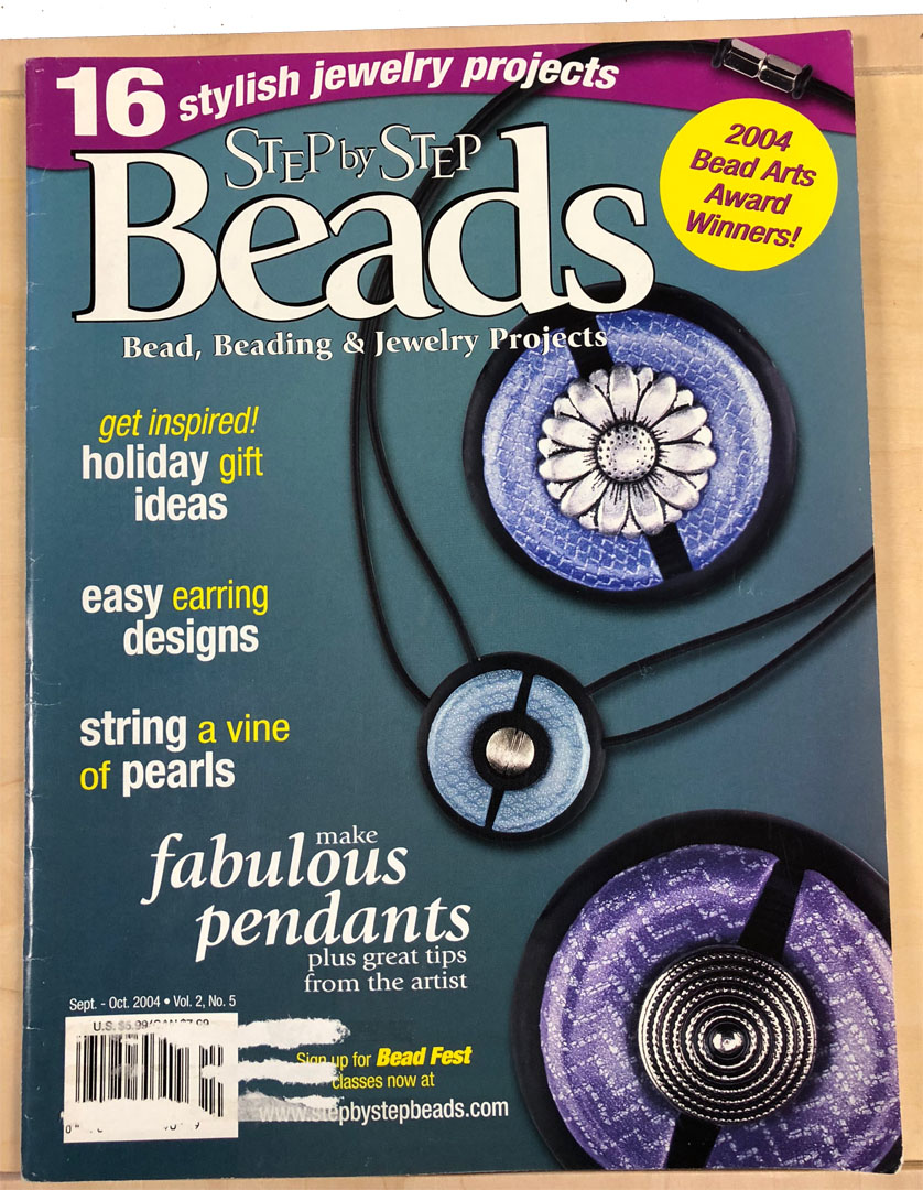 2004 Sep-Oct Vol 2 No 5, Step by Step Beads Magazine (Used)