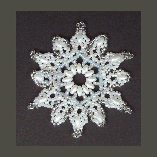 Snowflake #130 Ornament Pattern