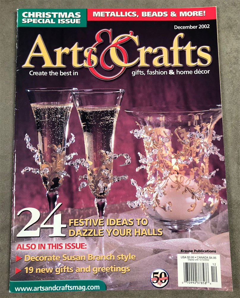 2002 December,  Arts & Crafts Magazine