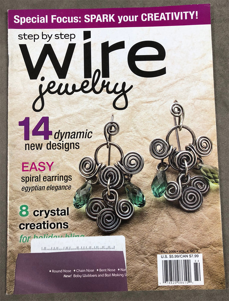 2008 Fall, Step by Step Wire Jewelry Magazine