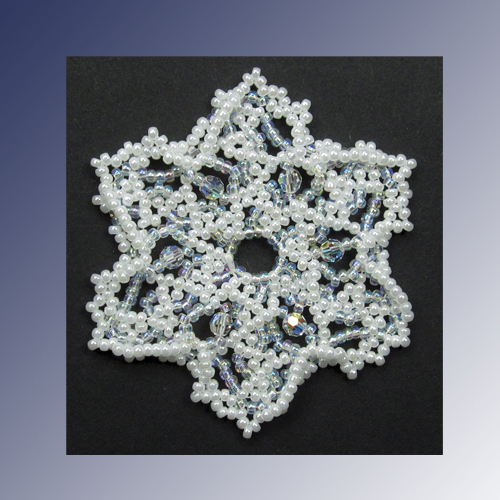 Snowflake #120 Ornament Pattern