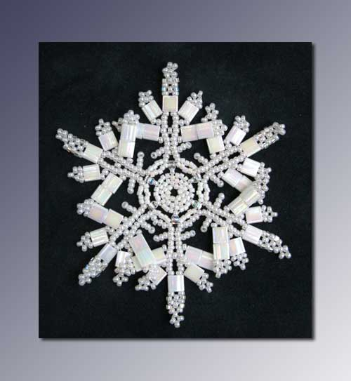 Snowflake #138 Ornament Pattern