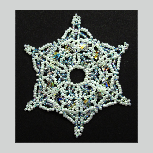 Snowflake #131 Ornament Pattern SDH