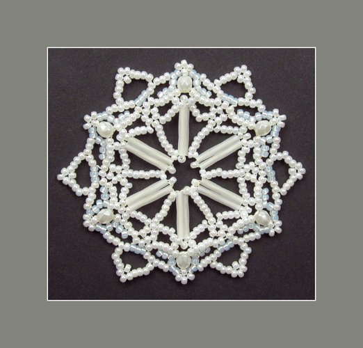 Snowflake #121 Ornament Pattern