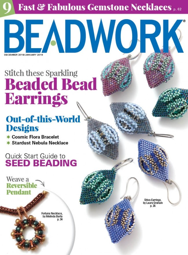 2018 Dec - Jan 2019 - BEADWORK magazine (Used)