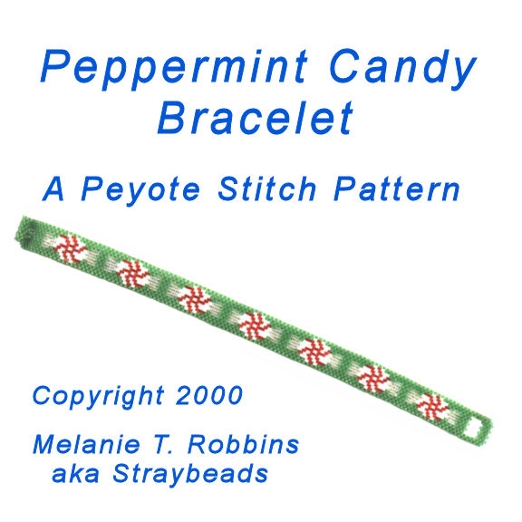Peppermint Candy Bracelet