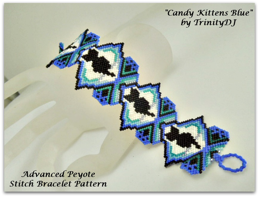 Candy Kittens Blue