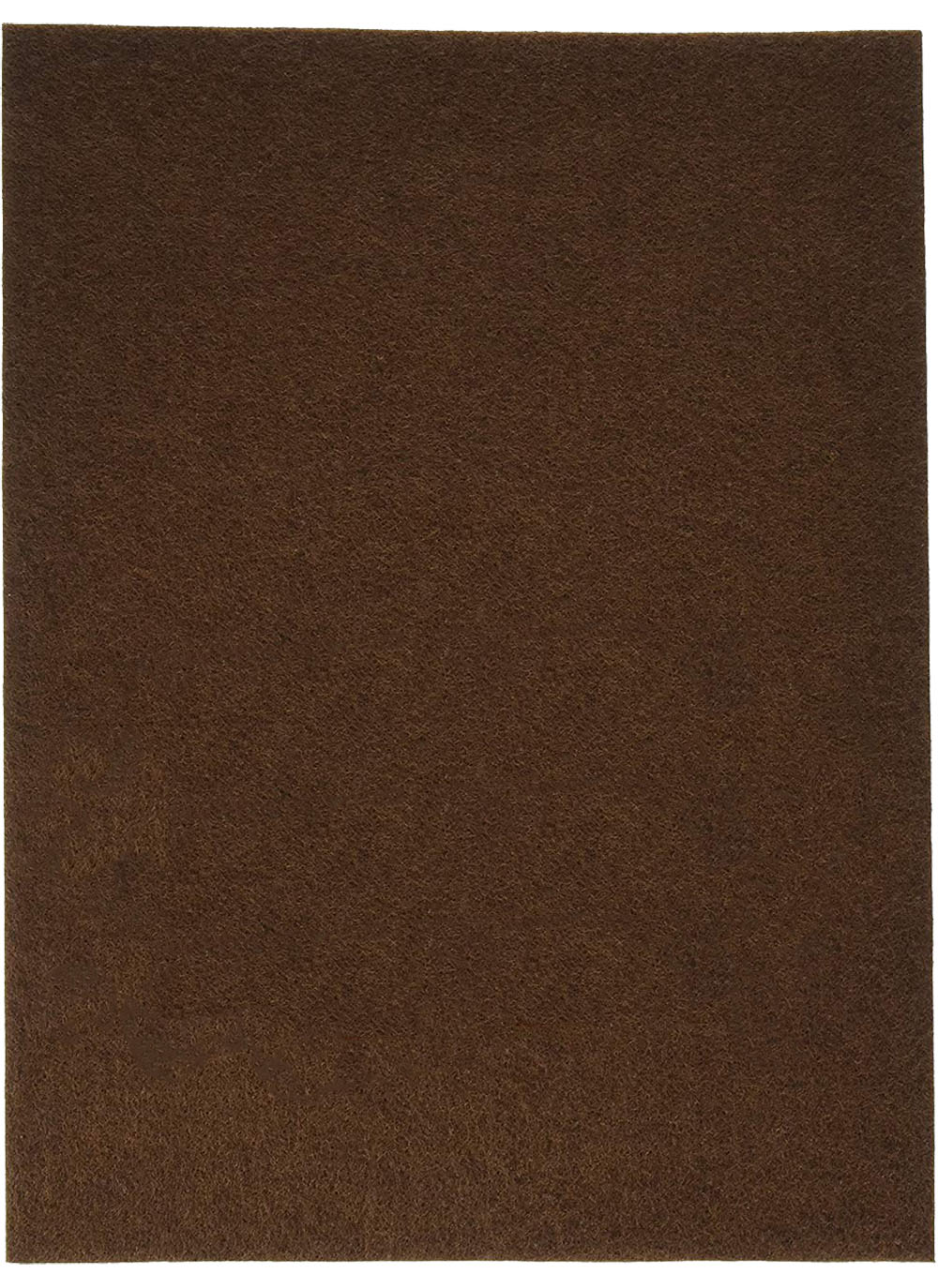 "Stiff Felt 9"" x 12"" x 1.5mm - Brown"
