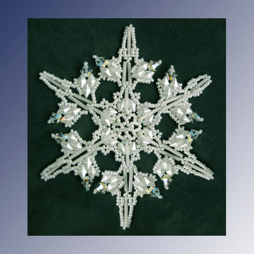 Snowflake #139 Ornament Pattern