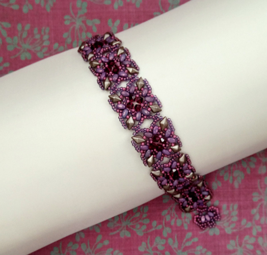 Diamond Flow Bracelet Pattern