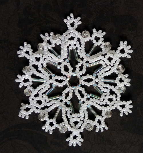 Snowflake #147 Ornament Pattern SDH