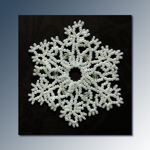 Snowflake #146 Ornament Pattern SDH