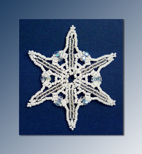 Snowflake #150 Ornament Pattern SDH