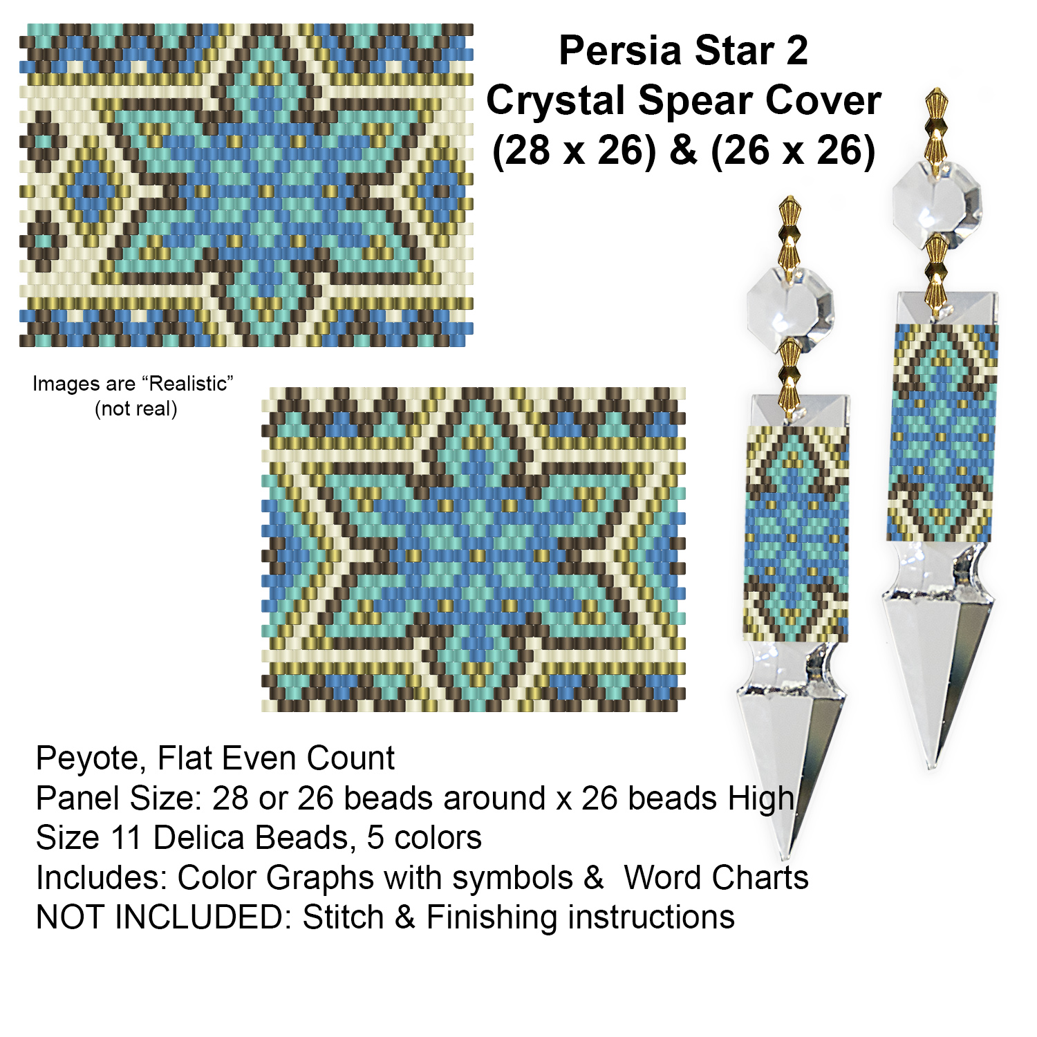 Persia Star 2 Crystal Spear Covers