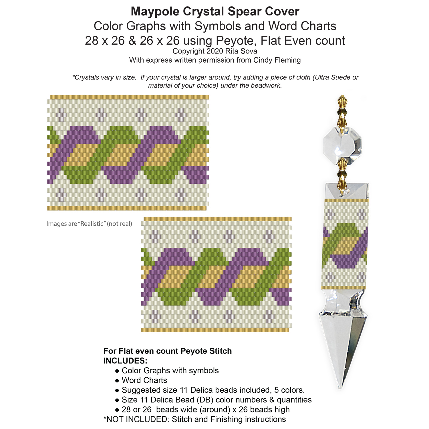 Maypole Crystal Spear Covers