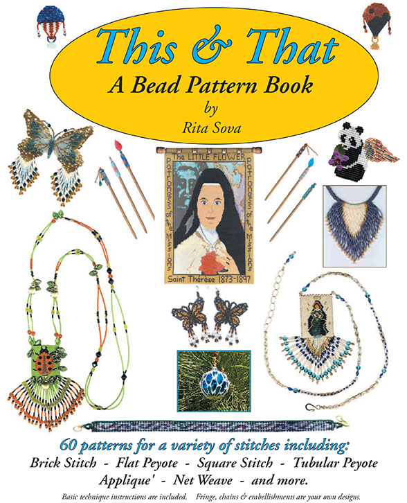 THIS & THAT a Bead Pattern Book by Rita Sova (Book by Mail)