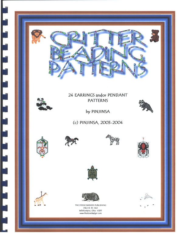Critter Beading Patterns Book (Book by Mail)