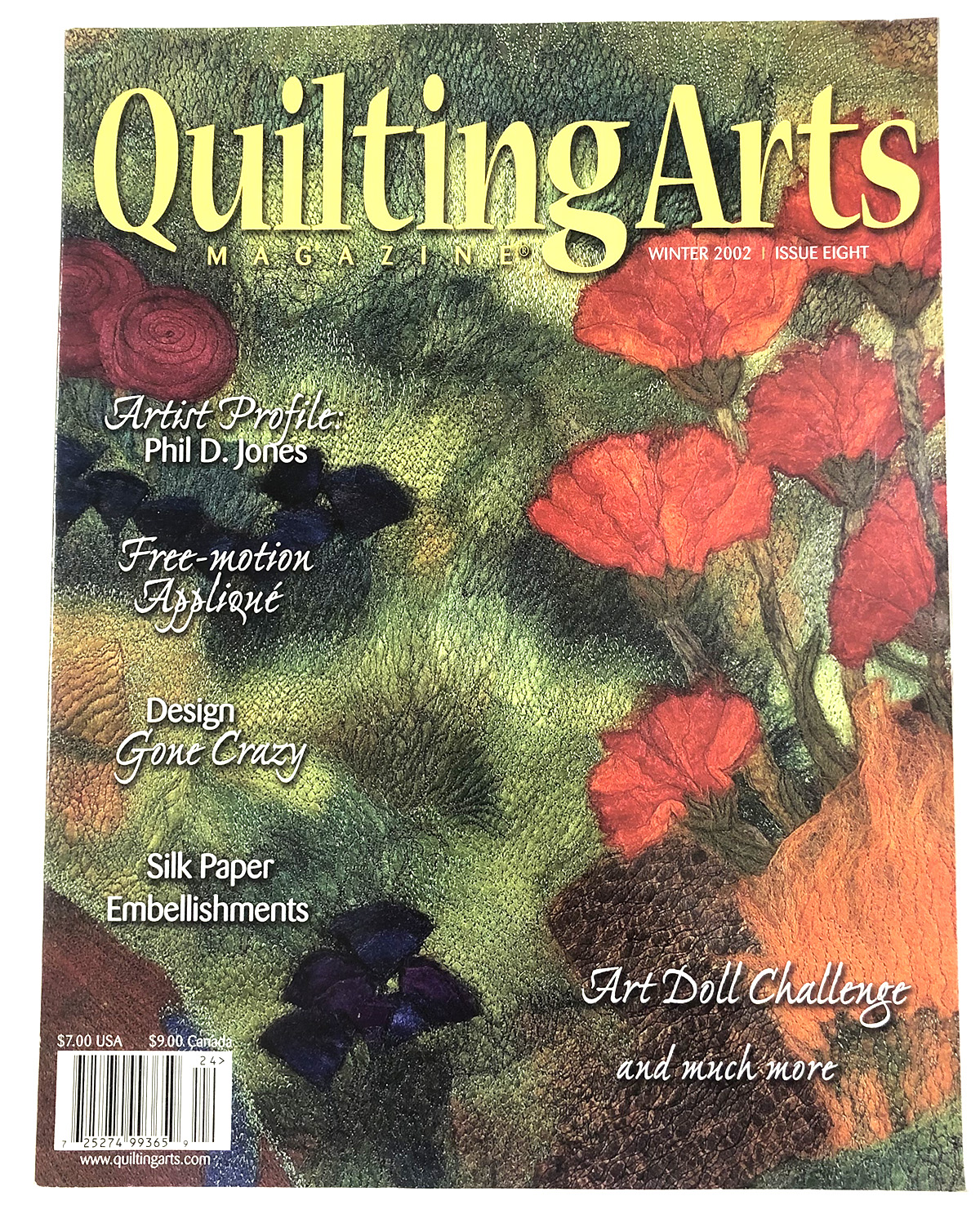 Quilting Arts Magazine Issue 8  2002 Winter