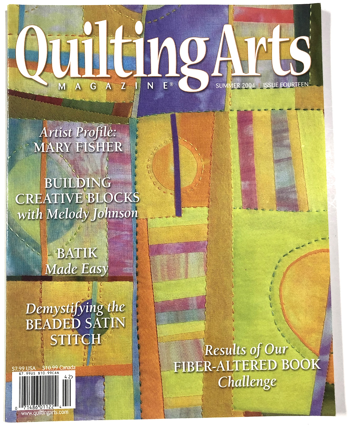 Quilting Arts Magazine Issue 14  2004 Summer