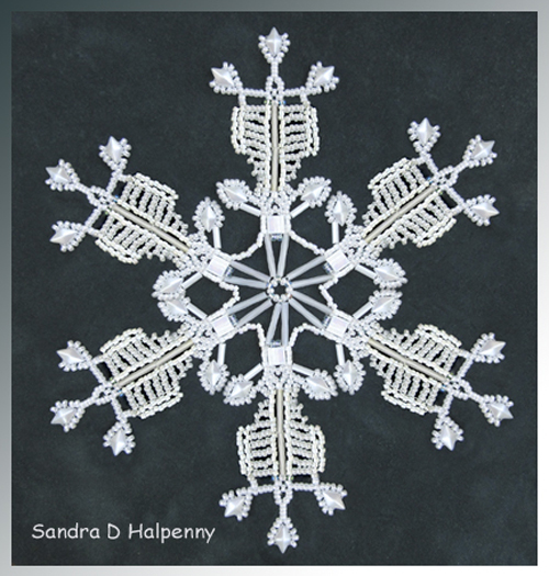 Snowflake #140 Ornament Pattern