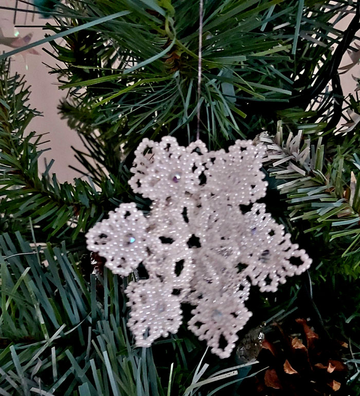 Snowflake Twirl Ornament Pattern