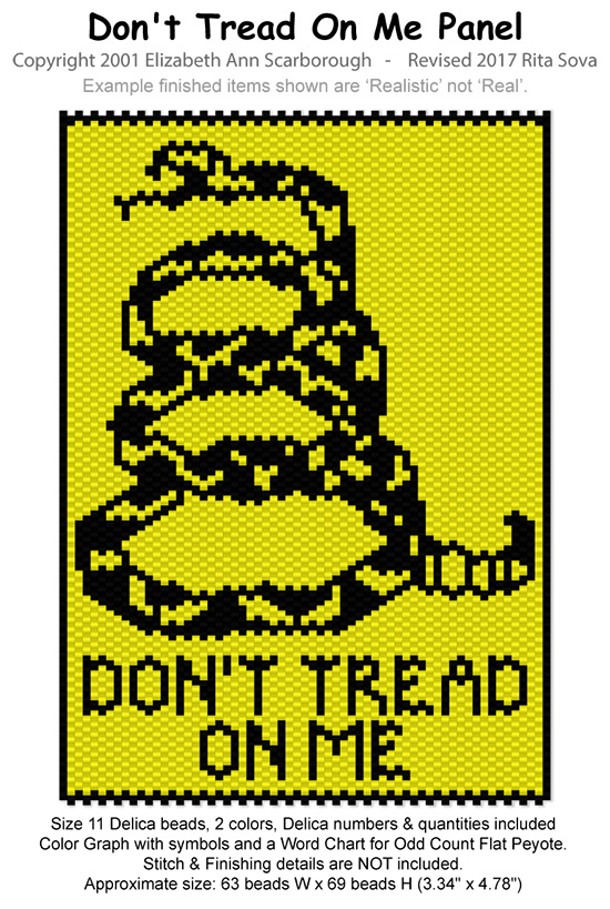 Don't Tread On Me Panel