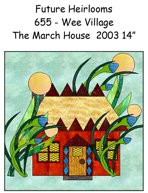 The Wee Village - The Wee March House