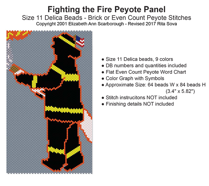 Fighting the Fire Peyote Panel