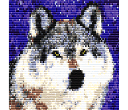 Winter Wolf (loom)