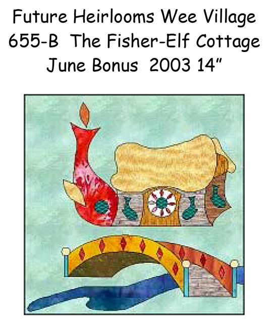 655-6B The Wee Fisher Elf Cottage