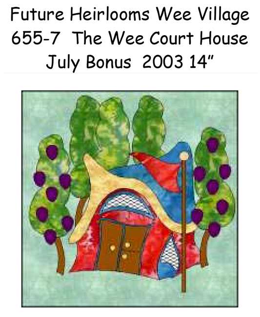 655-7 The Wee Court House